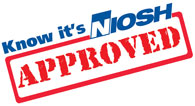 Know its NIOSH Approved logo