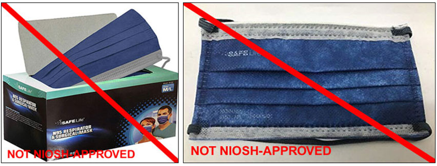 NIOSH has been notified that there are websites selling and misrepresenting Safe Life model B130 and model B150 as NIOSH approved. These models have not been NIOSH approved since 2015.
