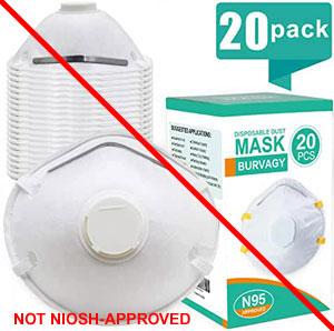 Respirators Misrepresentation Niosh-approval Counterfeit Of