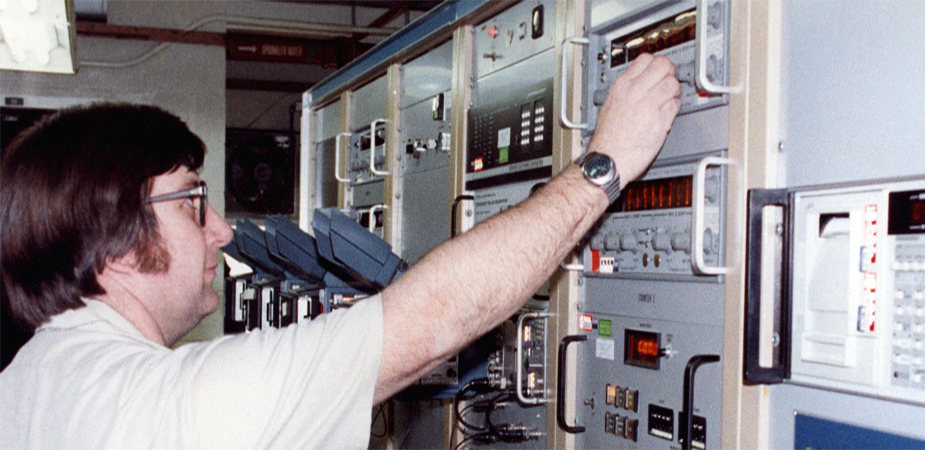 View of test fire console (Department of Energy Image Archive)