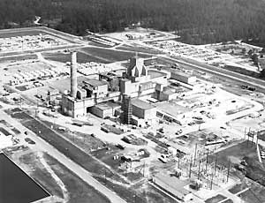 aerial view of L-Reactor Facility