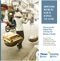 Cover page of PDF titled Improving Workers Health Across The Globe