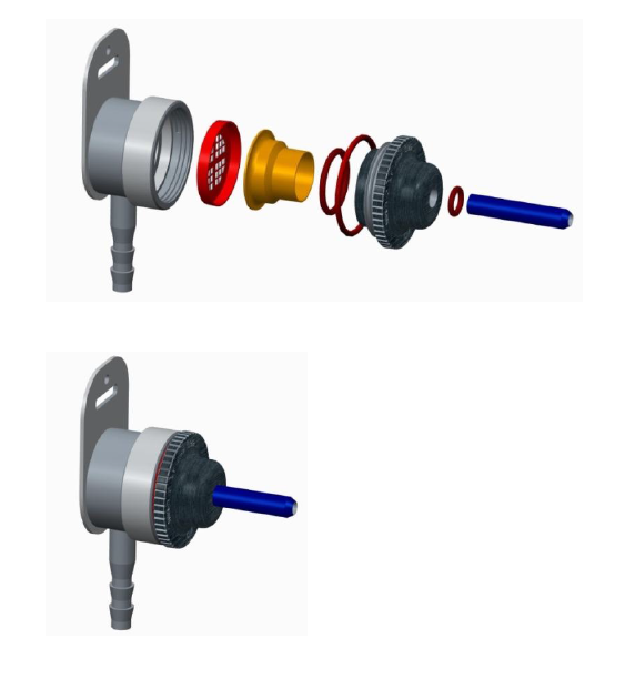 image of a tool with an expanded view and an assembled view