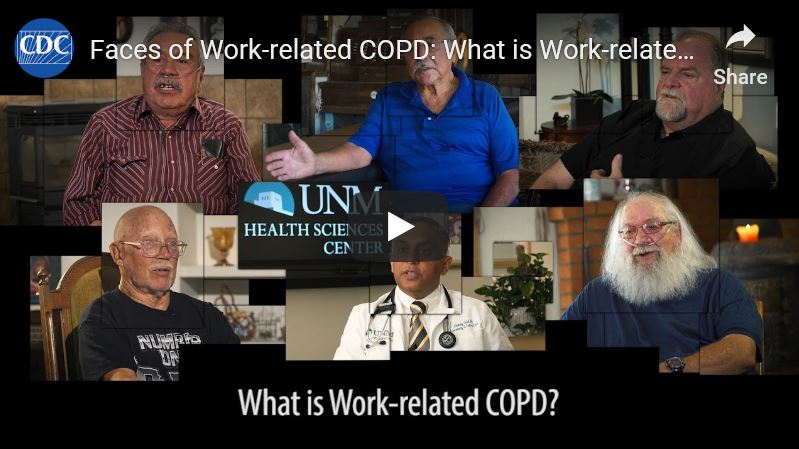 Faces of Work related COPD