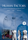 A paper describing anthropometric procedures for protective equipment sizing and design wins the Human Factors Prize