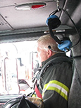 Firefighter anthropometric data are being used to improve fire truck seat designs and seatbelt usage compliance