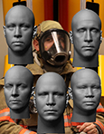 Five new head forms are being incorporated into respirator certification standards.