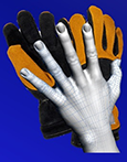 Firefighter hand anthropometric data are being used for structural firefighting gloves design and sizing