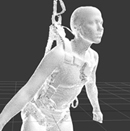 Assessing harness fit to workers using 3D scanning technologies