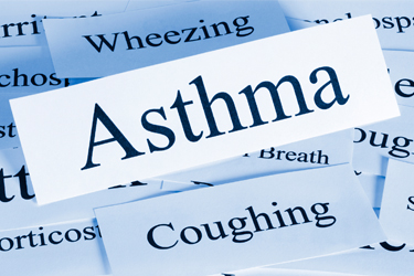asthma word image