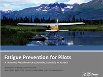 Cover of NIOSH publication 2016-162 Fatigue Prevention for Pilots