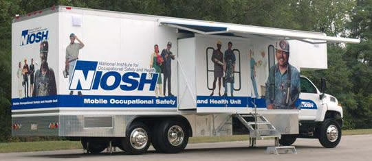 Photo of Mobile Health Unit.