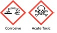 corrosive and acute toxic