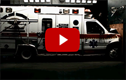 crash testing an ambulance