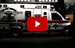 crash testing an ambulance