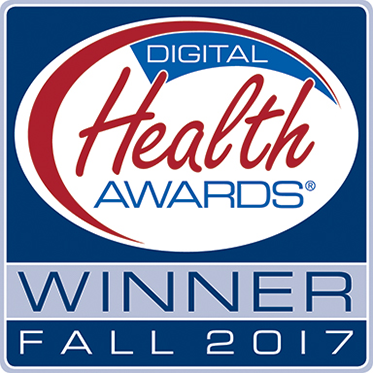 Fall 2017 Digital Health Award Winner logo