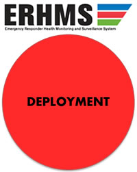red circle - DEPLOYMENT