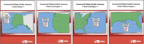 Commercial Fishing Fatality Regional Summaries Covers