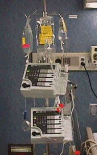 Multi-channel infusion pump for delivery of chemotherapy