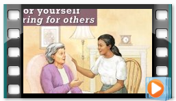 Thumnail of NIOSH Caring for Yourself while Caring for Others training video