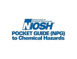 CDC - NIOSH Pocket Guide to Chemical Hazards (NPG)