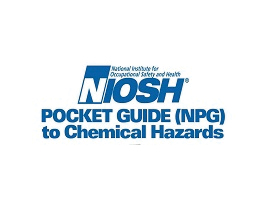Image of NIOSH Pocket Guide logo written in text.