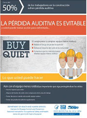 Buy Quiet poster - Spanish version