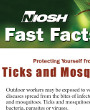 Preview image for NIOSH Fast Facts, Protecting yourself from ticks and mosquitoes