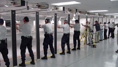 Cdc indoor firing ranges niosh workplace safety and for Indoor shooting range design uk