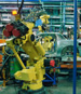 automated robotic manufacturing arm