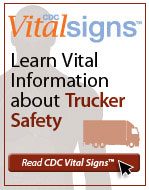 Vital Signs Truck Driver Safety Widget