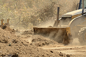 Bulldozing Back Dirt