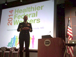 a speaker for the 2014 Healthier Federal Workers