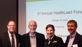 speakers at the 3rd annual health lead forum
