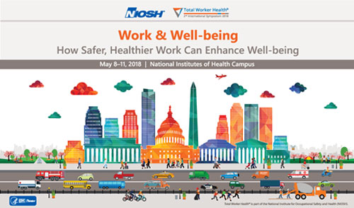 Work & Well-being, How Safer, Healthier Work Can Enhance Well-being graphic