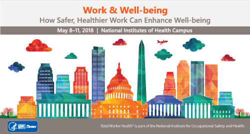 2nd International Symposium to Advance Total Worker Health badge