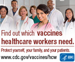 find out which vaccines healthcare workers need