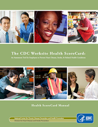CDC Worksite Health Scorecards cover