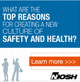 what are the top reasons for creating a new culture of safety and health?