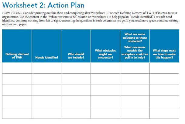 Thumbnail image for the Action Plan worksheet