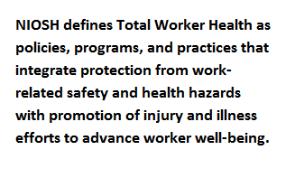Total Worker Health tagline