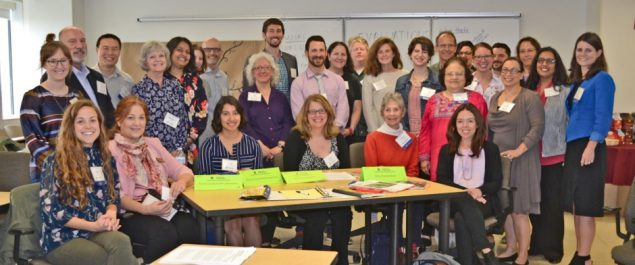 Staff and participants from the University of Illinois at Chicago Center for Healthy Work.