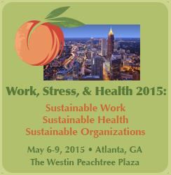 Work, Stress, Health 2015 conference information image