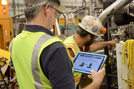 Worker using the mining ErgoApp