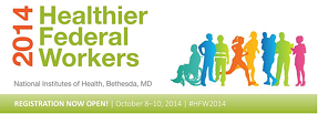 Healthier Federal Workers 2014 logo