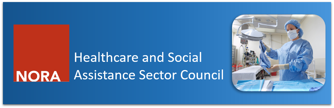 NORA Healthcare and Social Assistance Council Banner