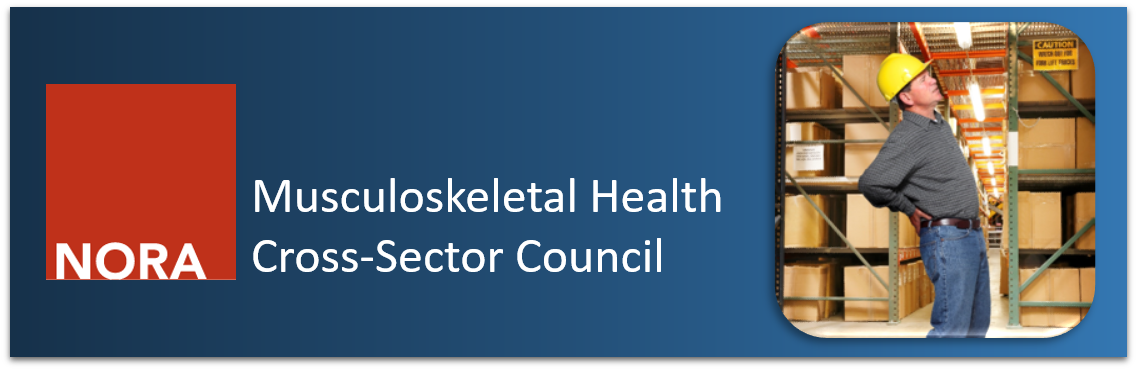 Musculoskeletal Health Cross-Sector Council Banner