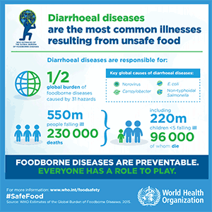 Infographic: Foodborne Diseases Are Preventable. Everyone Has a Role to Play.