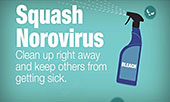 Clean Up After Someone with Norovirus Vomits or has Diarrhea video