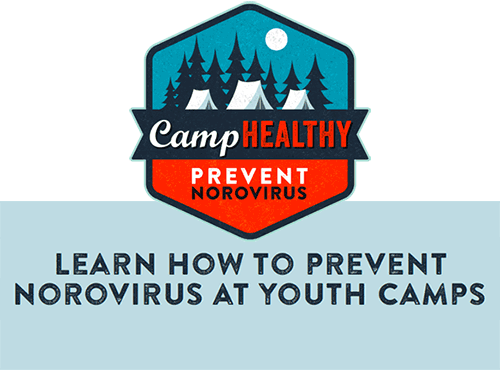 Camp Healthy: Prevent Norovirus. Learn How to Prevent Norovirus at Youth Camps
